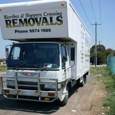 Werribee moving house truck