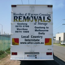 Hoppers Crossing removals van
